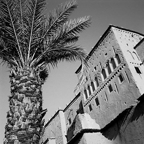 Foto van het paleis in Ouarzazate, Marokko
