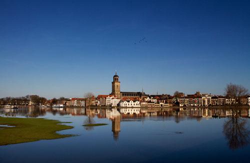 Foto van de IJssel bij Deventer