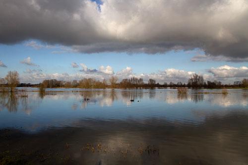 Foto van de IJssel bij Voorst