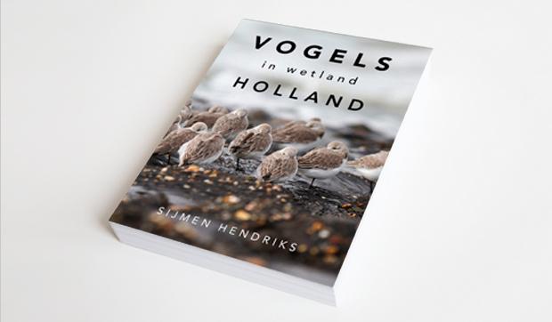 """Foto van de cover van """"Vogels in wetland Holland"""""""