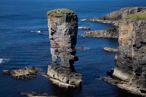 Foto van de Garthna Geo, Sandwick, West Mainland, Orkney